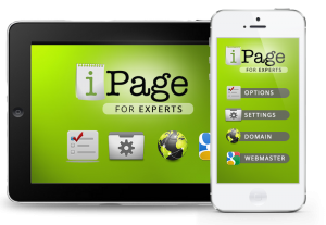 ipage serveur mobile